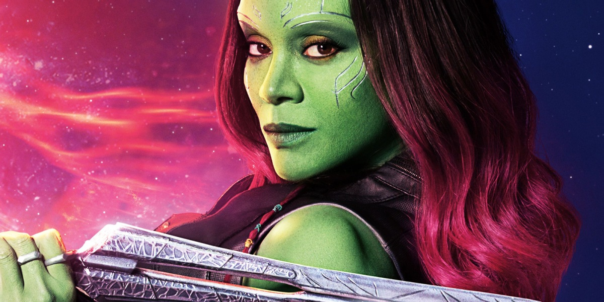 Zoe Saldana Shares Gamora Makeup Procedure for Guardians of the Galaxy Vol.2