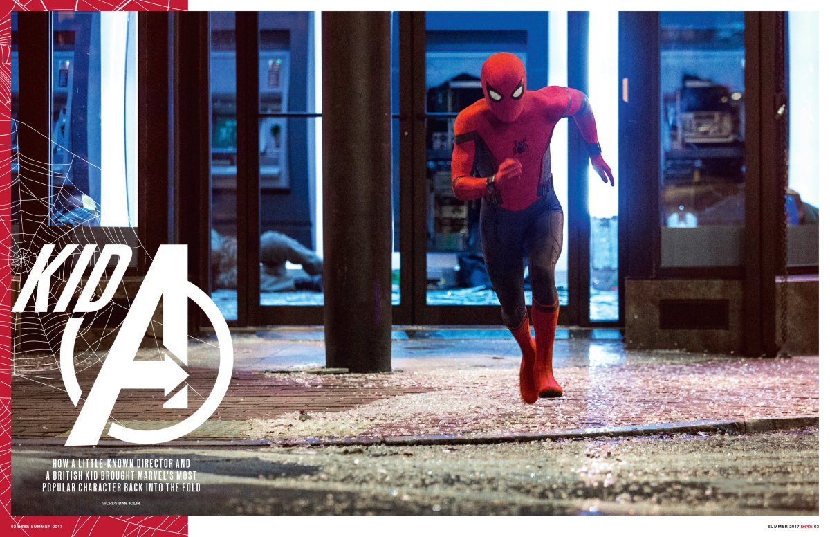 SPIDER-MAN: HOMECOMING New Promotional Images Released