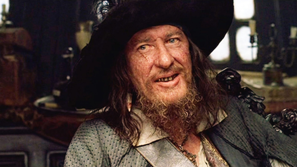 3ff0b1fe6ee9f Pirates of the Caribbean   I m done playing Pirates  Captain Barbossa   Said