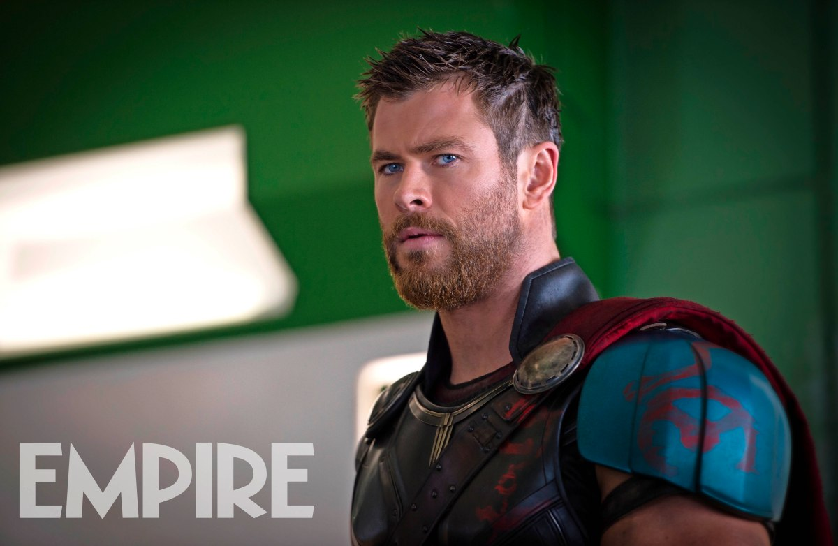 "Chris Hemsworth's 'Thor"" Gets a New Haircut as He Prepares for Battle in THOR: RAGNAROK"